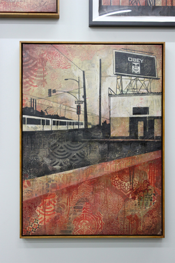 Shepard Fairey's 'Your ad here' exhibition
