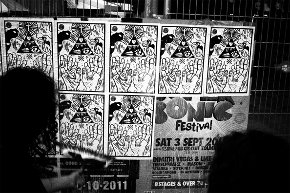 Andalltha Superstickers! @ the Pukkelpop music festival in Hasselt, Belgium, 2011