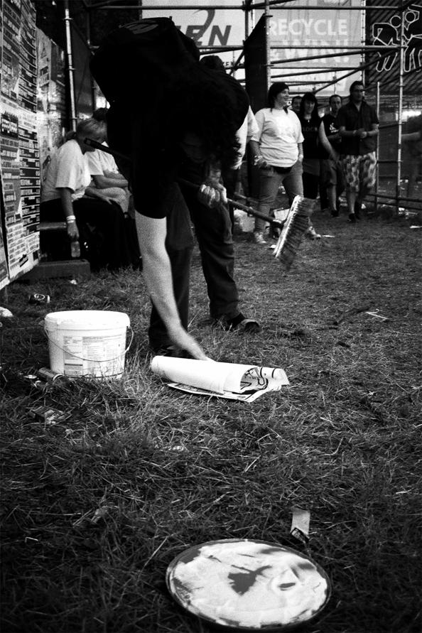 Thierry Jaspart @ Pukkelpop music festival in Hasselt, Belgium, 2011