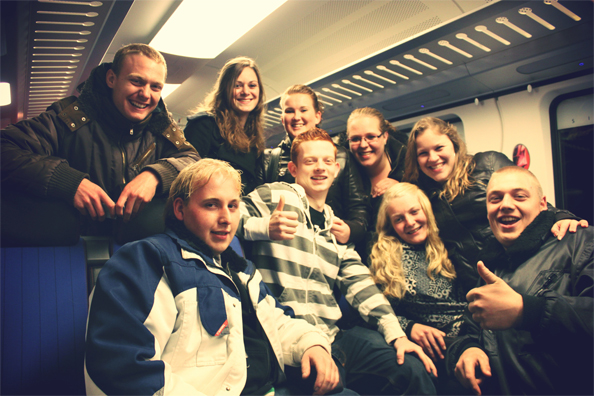People I met in the train from Amersfoort to Assen
