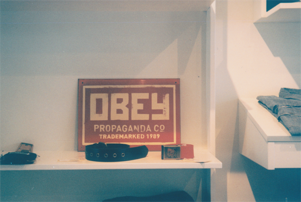 Opening of the Obey Clothing Pop-Up Store in Amsterdam.