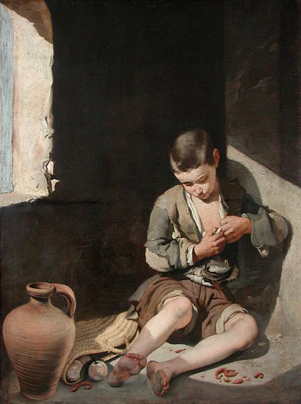 Bartolomé Esteban Murillo, Le Jeune Mendiant