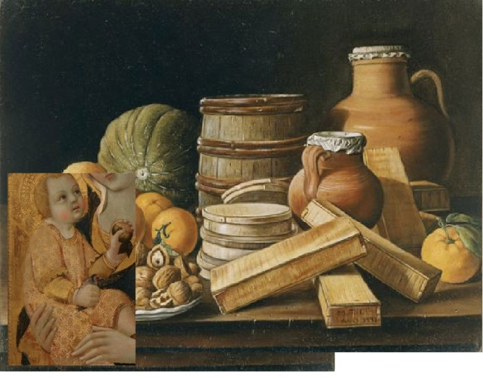 Thierry Jaspart, Nature Morte à l'Enfant, 2012