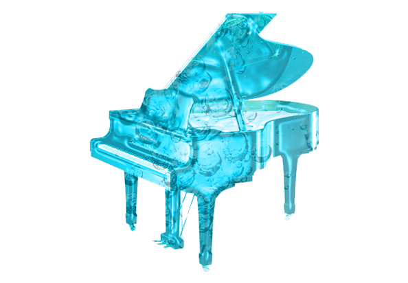 """""""Piano aqueux"""" par Thierry Jaspart"""