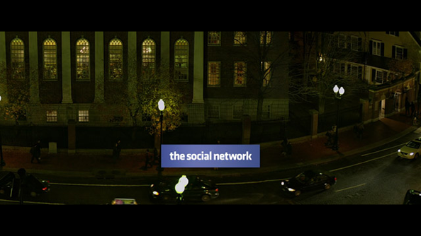 The Social Network de David Fincher