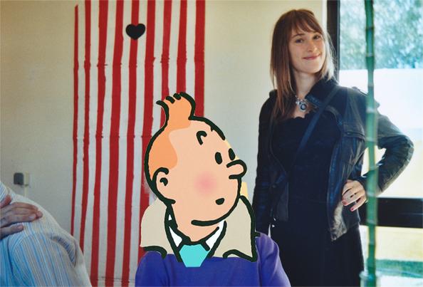 Tintin et ma sœur Gaëlle