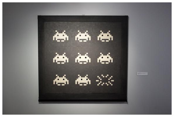 Invader @ Musée de la Poste