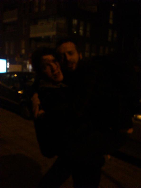 Sfun and I — Photo taken by Matthien Courtou