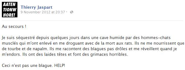 thierry-jaspart-facebook-status-screenshot-appel-au-secours-hommes-chats-muscles