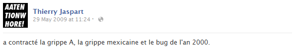 thierry-jaspart-facebook-status-screenshot-grippe-a-mexicaine-bug-an-2000