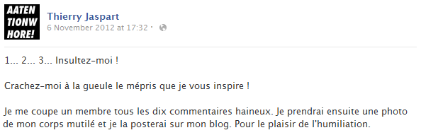 thierry-jaspart-facebook-status-screenshot-insulte-humiliation-blog