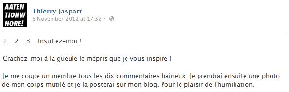 thierry-jaspart-facebook-status-screenshot-insulte-humiliation-blog