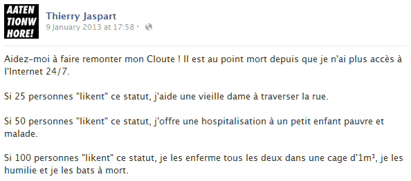 thierry-jaspart-facebook-status-screenshot-klout-like