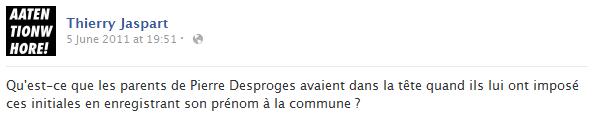 thierry-jaspart-facebook-status-screenshot-pierre-desproges