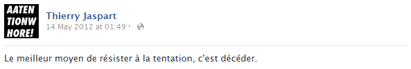 thierry-jaspart-facebook-status-screenshot-tentation