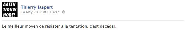 thierry-jaspart-facebook-status-screenshot-tentation