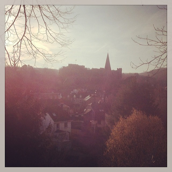 «Good morning, beautiful Roche-en-Ardenne!»