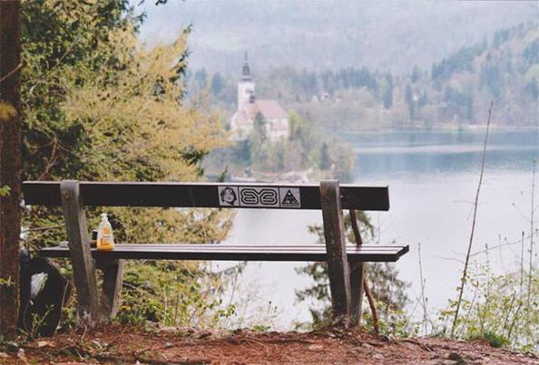 Andalltha, Eye and Sfun in Bled, Slovenia