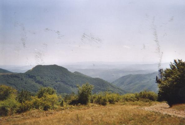 Myself in Chavdar, Bulgaria