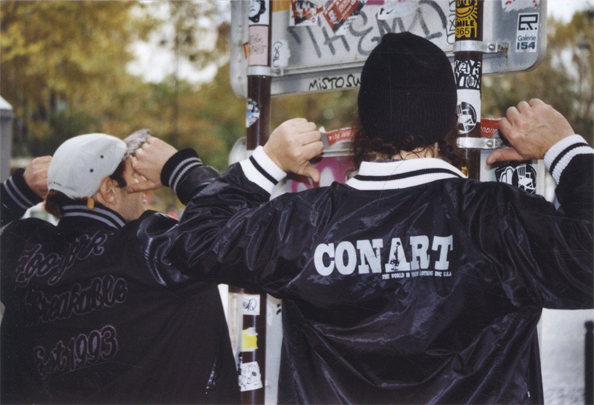 Zoo York x CONART — photo prise par Gabri le Cabri